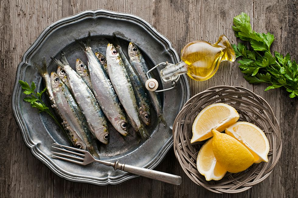 Martha Stewart's Broiled Fresh Sardines