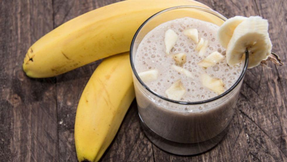 Terry Crews' Banana Berry Smoothie