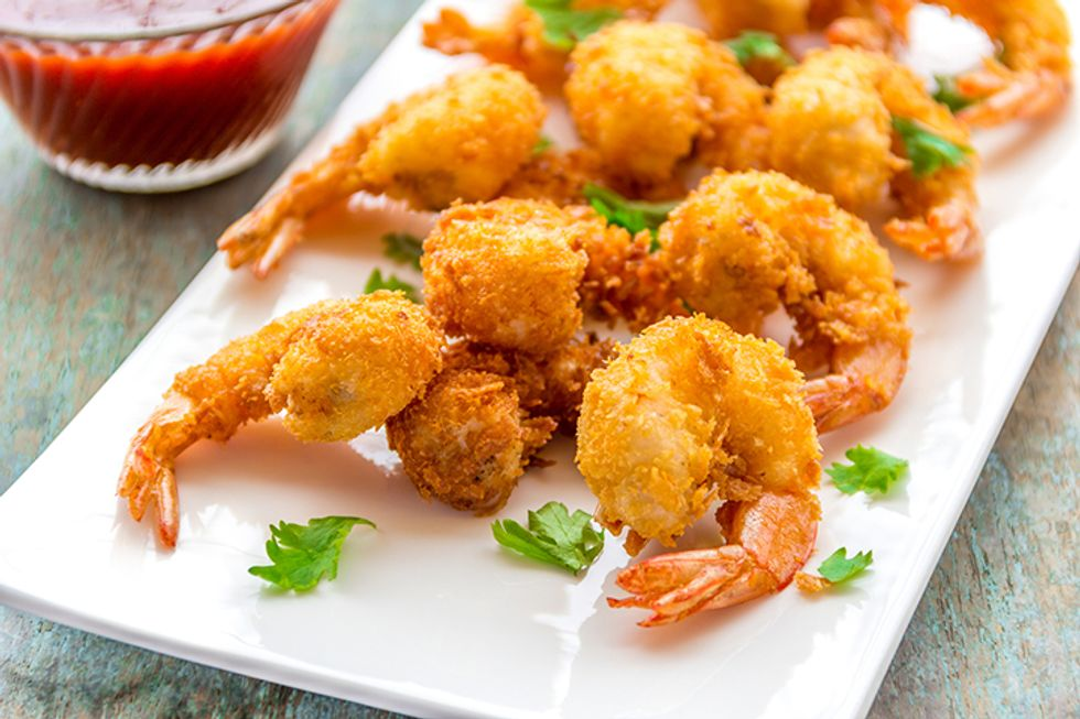 Hungry Girl's Sweet Coconut Crunch Shrimp