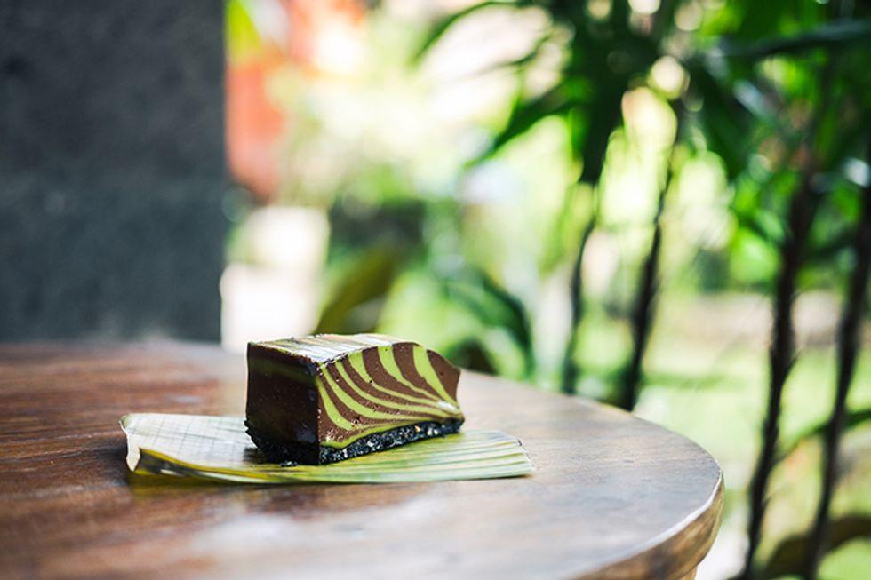 Matcha Dark Chocolate Bites