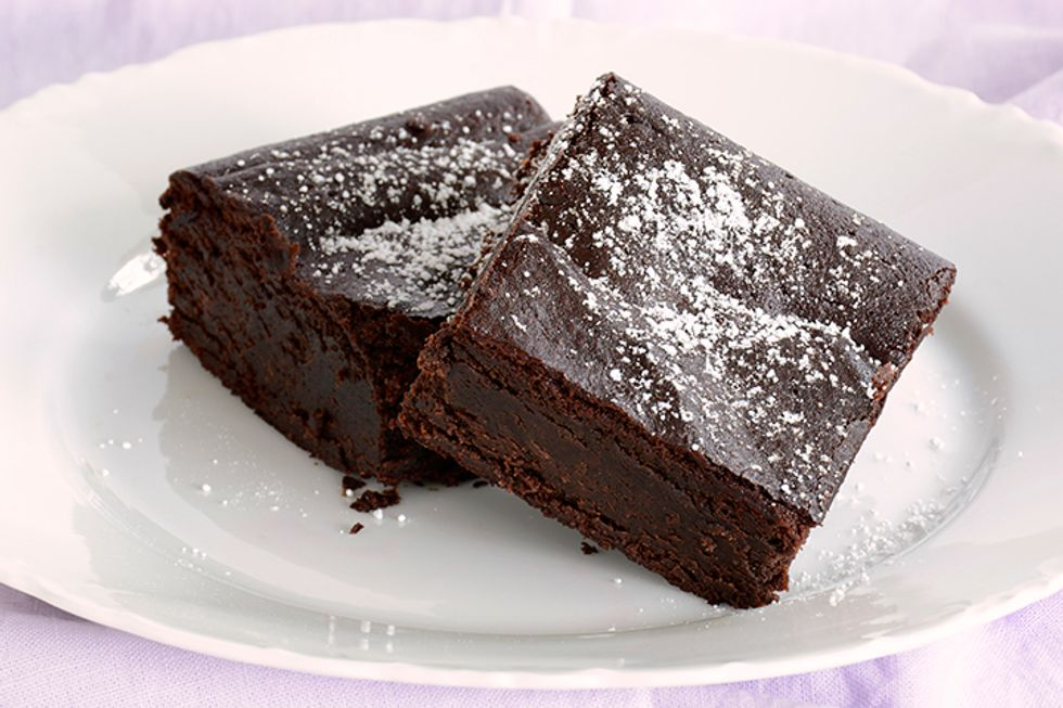 Dr. Mark Hyman's Fudgy Carob Brownies