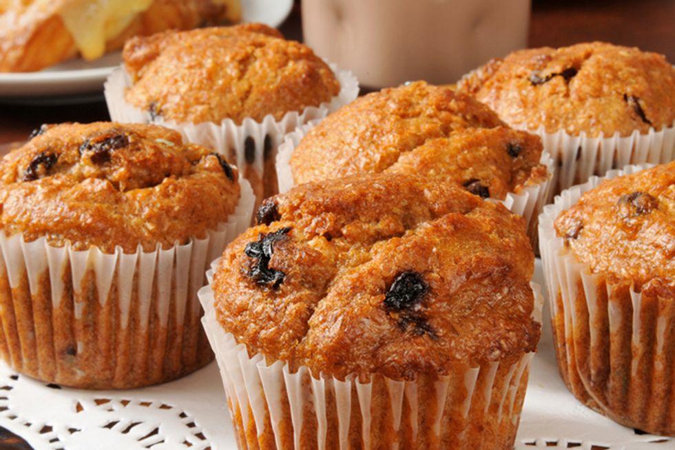 Post Apple Raisin Bran Muffins
