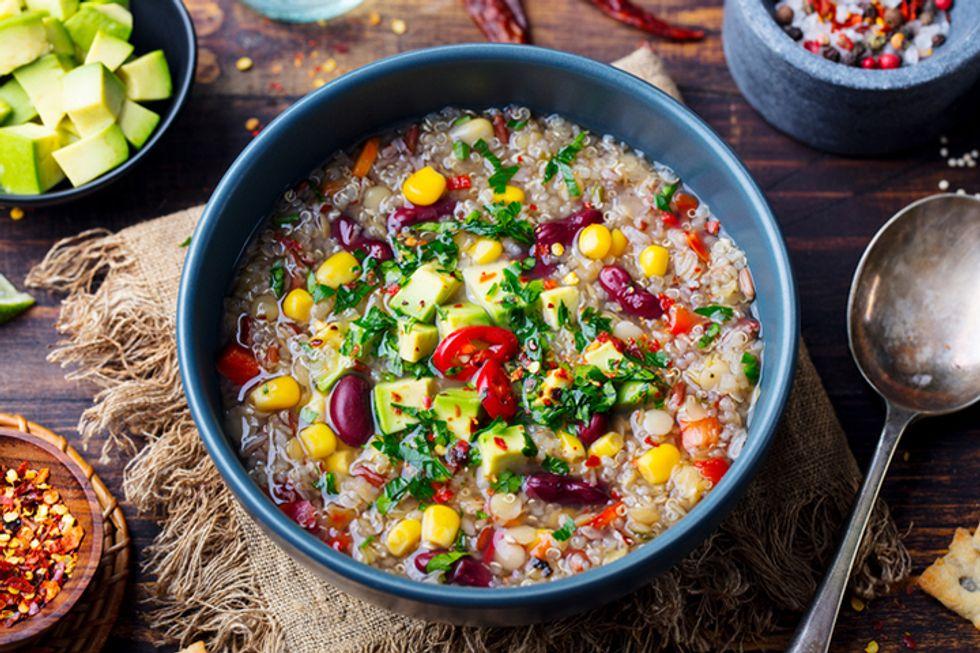 Southwest Quinoa Soup