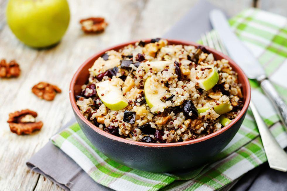 Dolvett Quince's Quinoa-Apple Salad