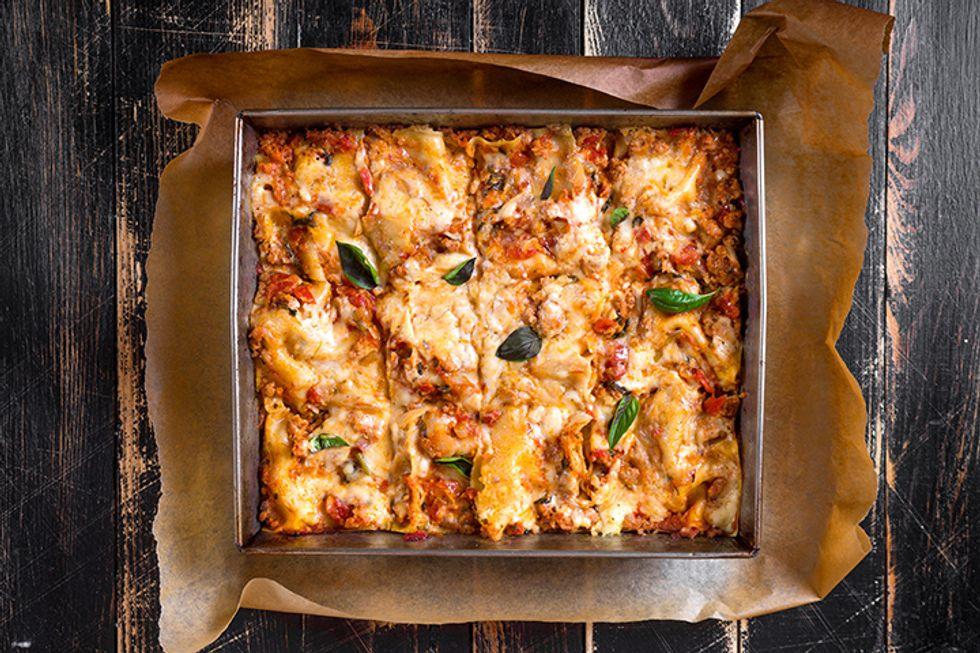 Weight Watchers No-Noodle Vegetable Lasagna