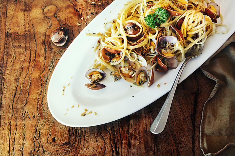 B12-Boosting Clam Pasta