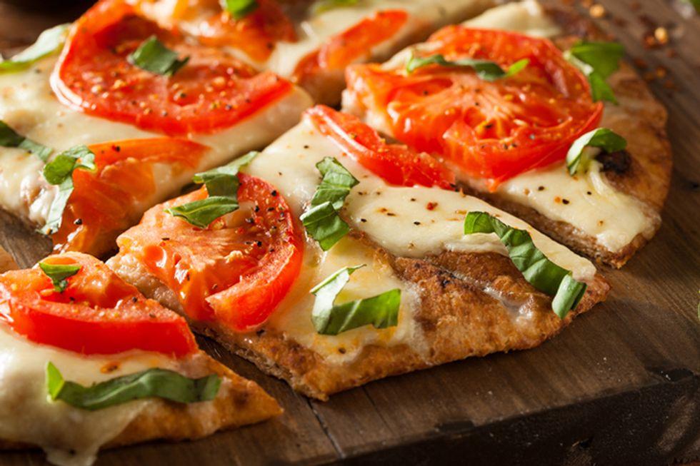 Art Smith's Whole-Wheat Margherita Pizza