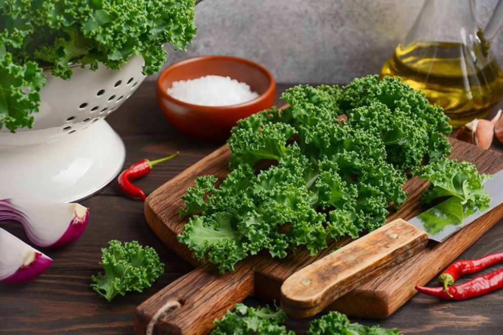 Simply Sautéed Kale
