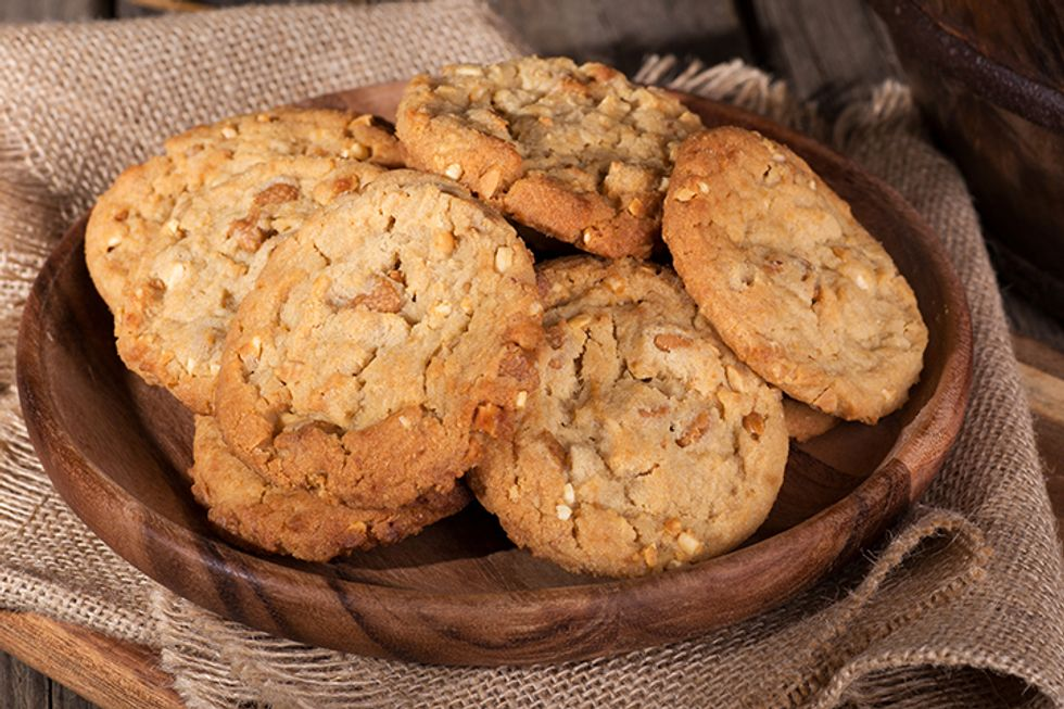 Shaun T's Oatmeal and Peanut Butter Ricotta Cookies