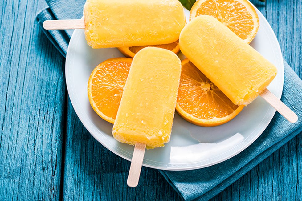 Summer Sleep Solution Recipes: Mimi's Sleepytime No-Drip Popsicles