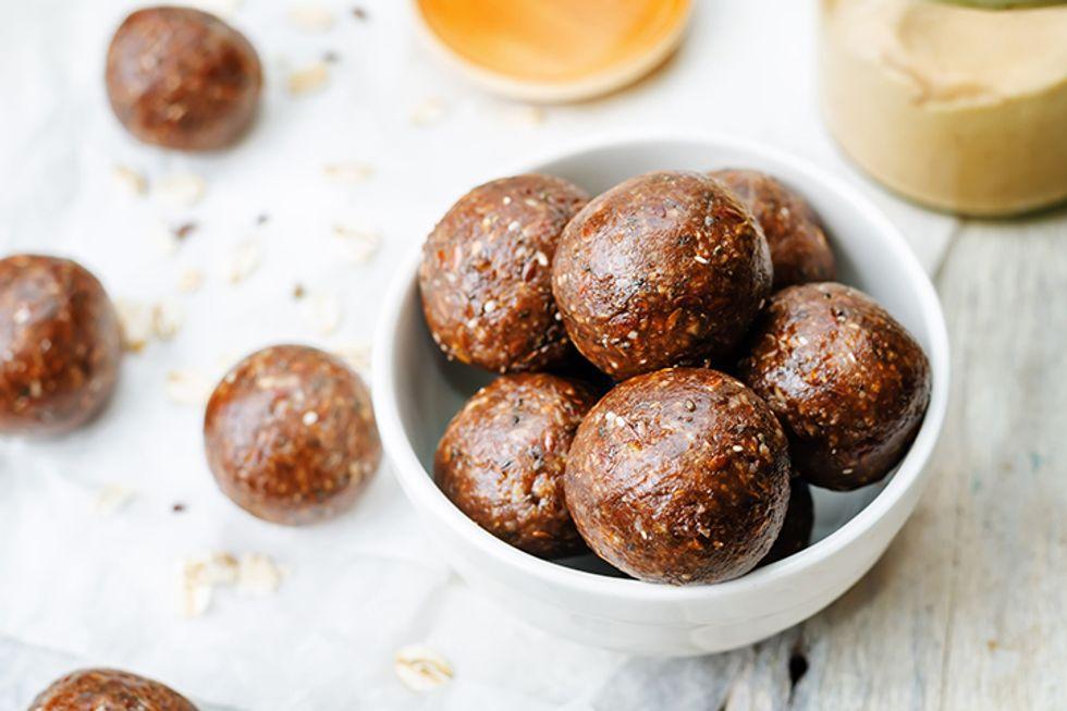Cacao Peanut Butter Truffles