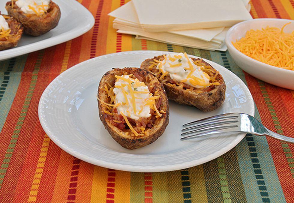 Todd Wilbur's Reduced-Calorie, Reduced-Fat Potato Skins