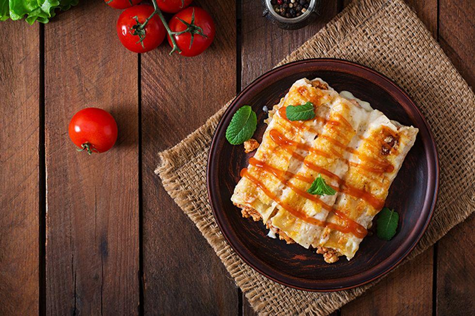 Jessie James Decker's Chicken Fit-Chiladas
