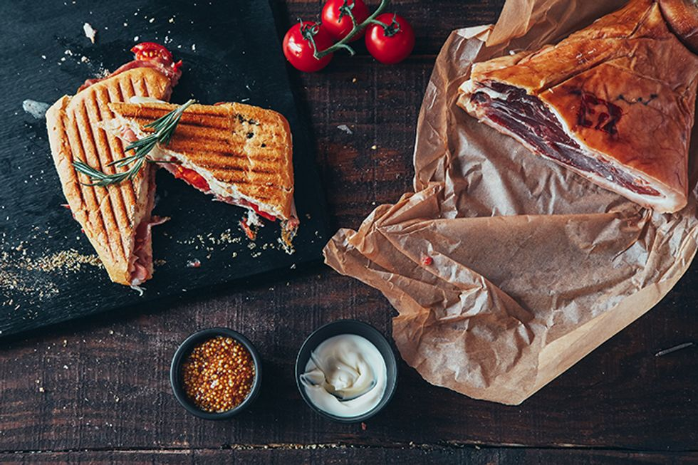 Chicken and Spinach Panini