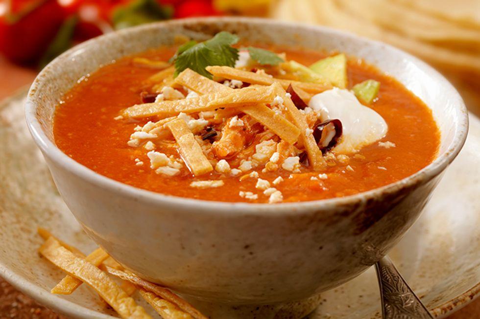 Kirstie Alley's Tortilla Soup
