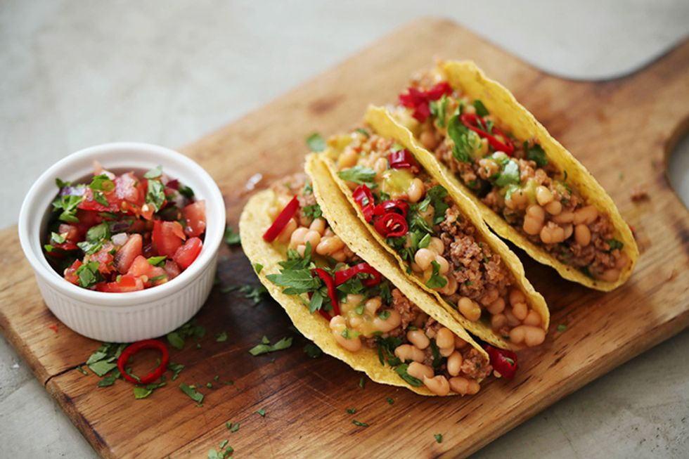 Hungry Girl's Mega-Meaty Meatless Tacos