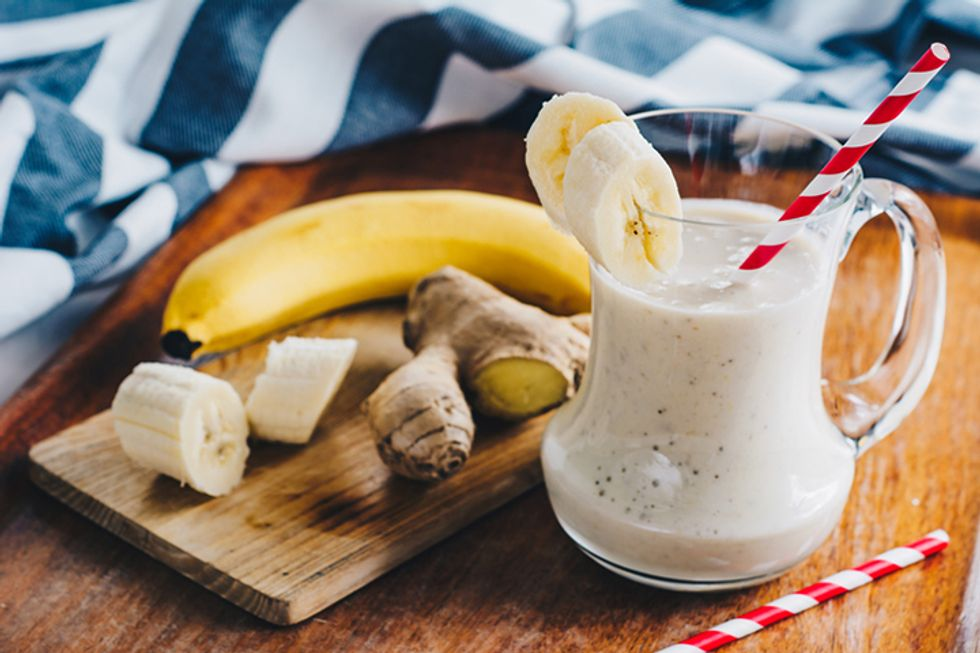 Banana Ginger Energy Smoothie