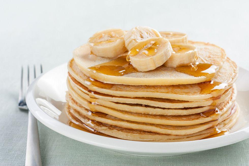 OMG (Oh My God) Banana Oatmeal Pancakes