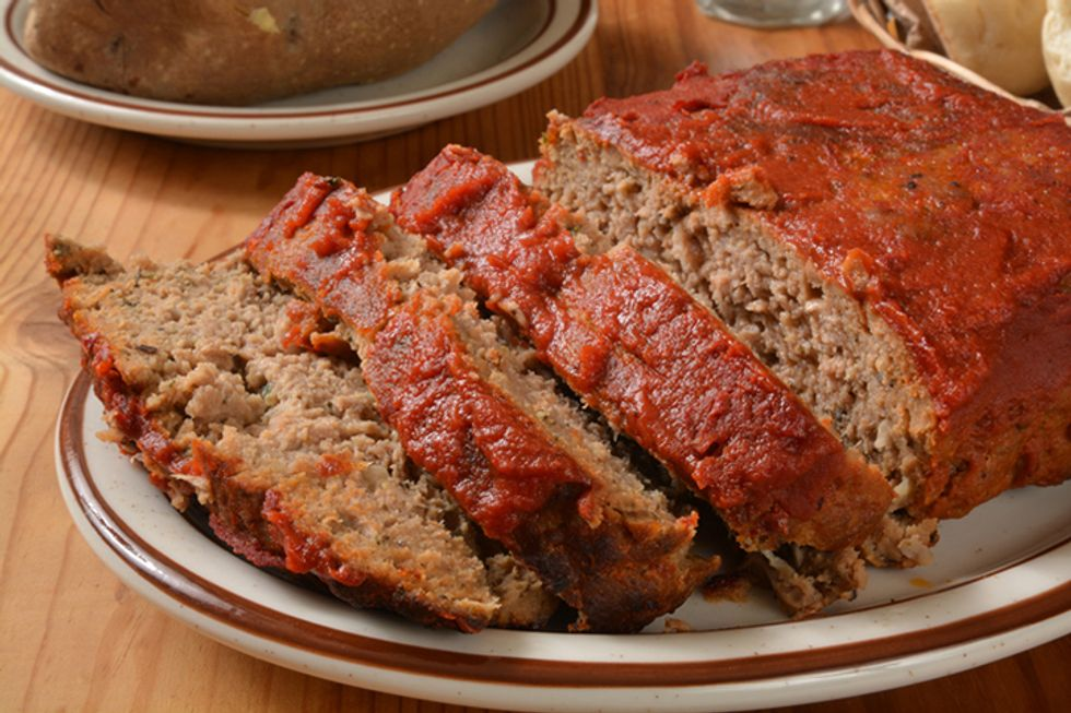 Flaxseed Meat Loaf
