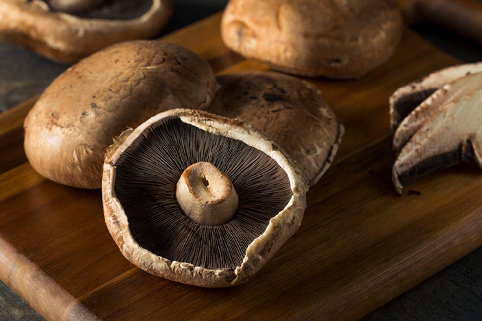 Sautéed Portobello Mushrooms