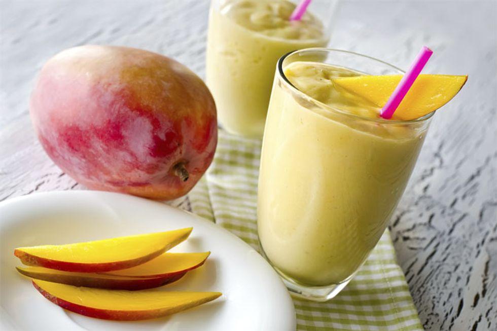 Almond Mango Protein Shake