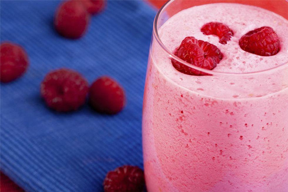 Almond Raspberry Smoothie