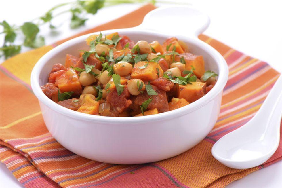 Robin's Vegan Chickpea Stew