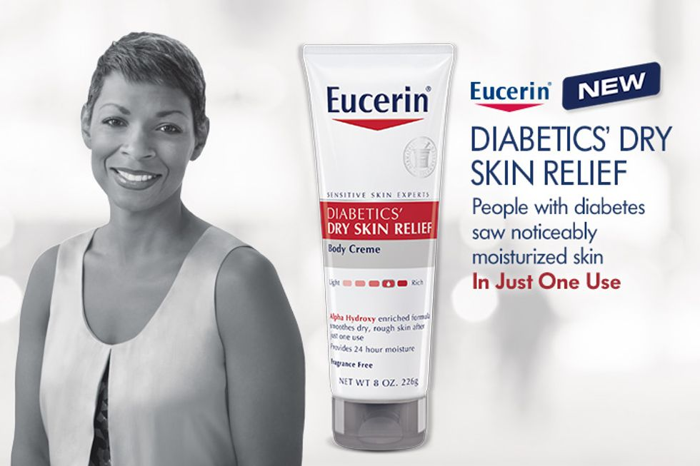 Eucerin Diabetics' Dry Skin Relief Giveaway: Enter To Win!