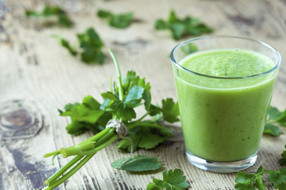 Green Cilantro Smoothie