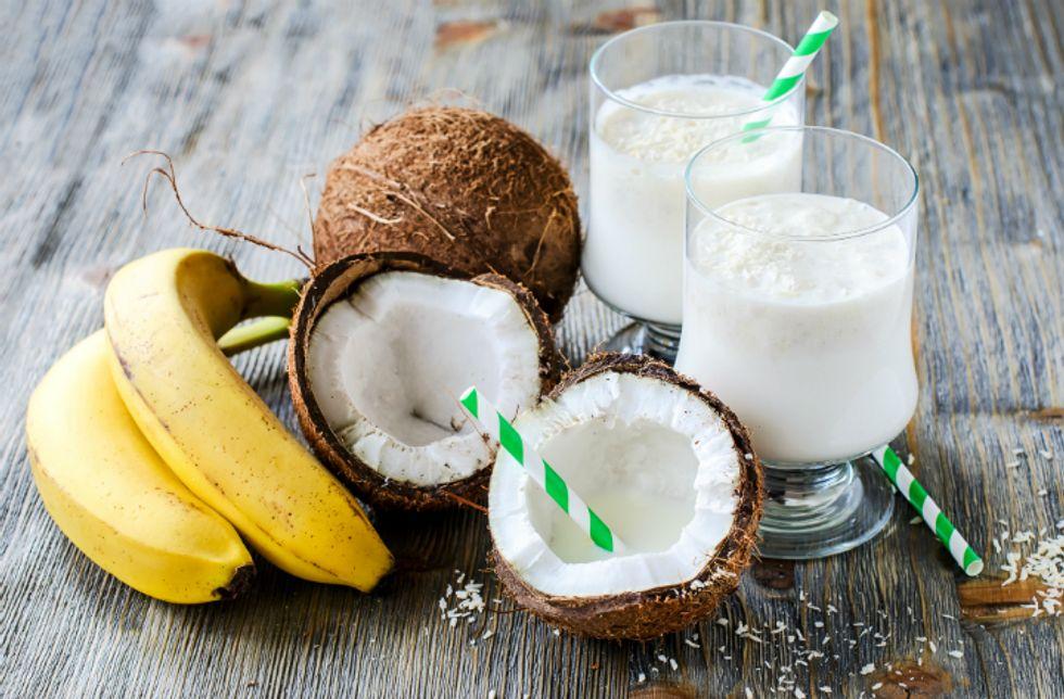 Coconut Oil Smoothie
