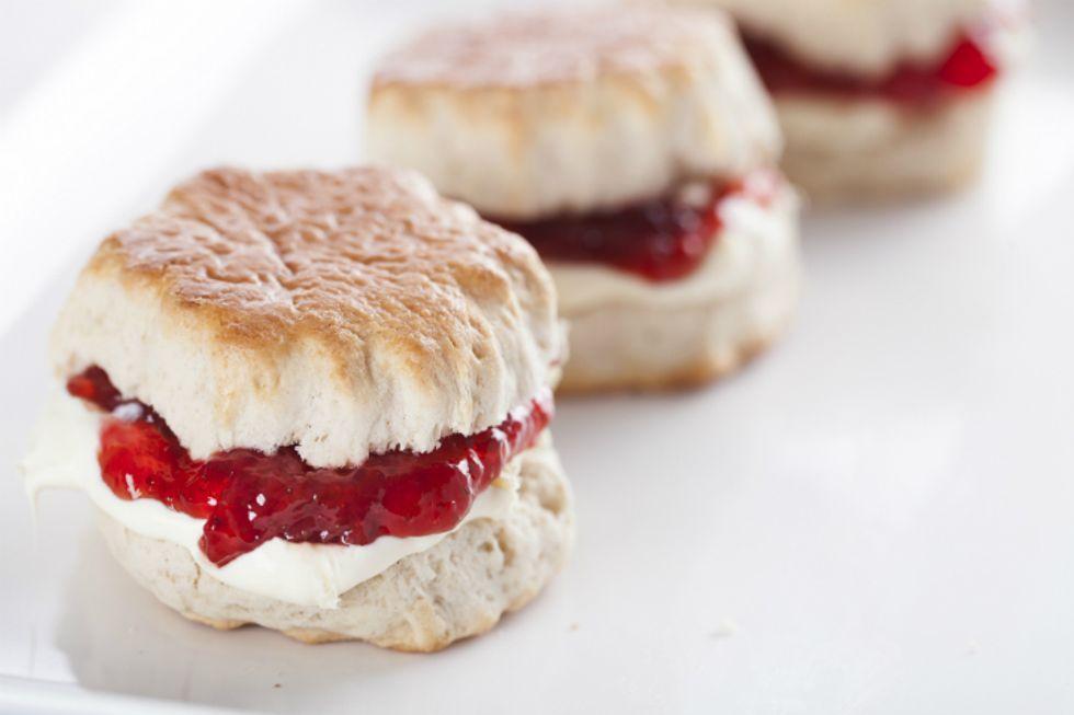 Carla Hall's Cranberry and Sweet Potato Shortcake