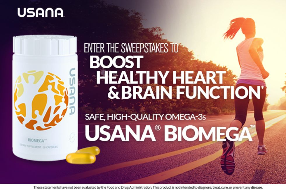 USANA® BiOmega™: Enter for a Chance to Win!