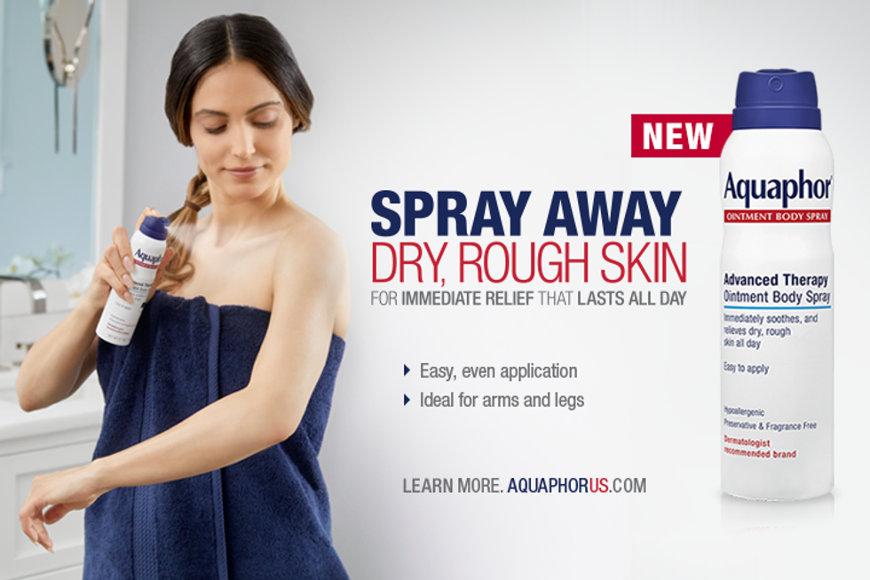 Enter to Win: New Aquaphor® Ointment Body Spray