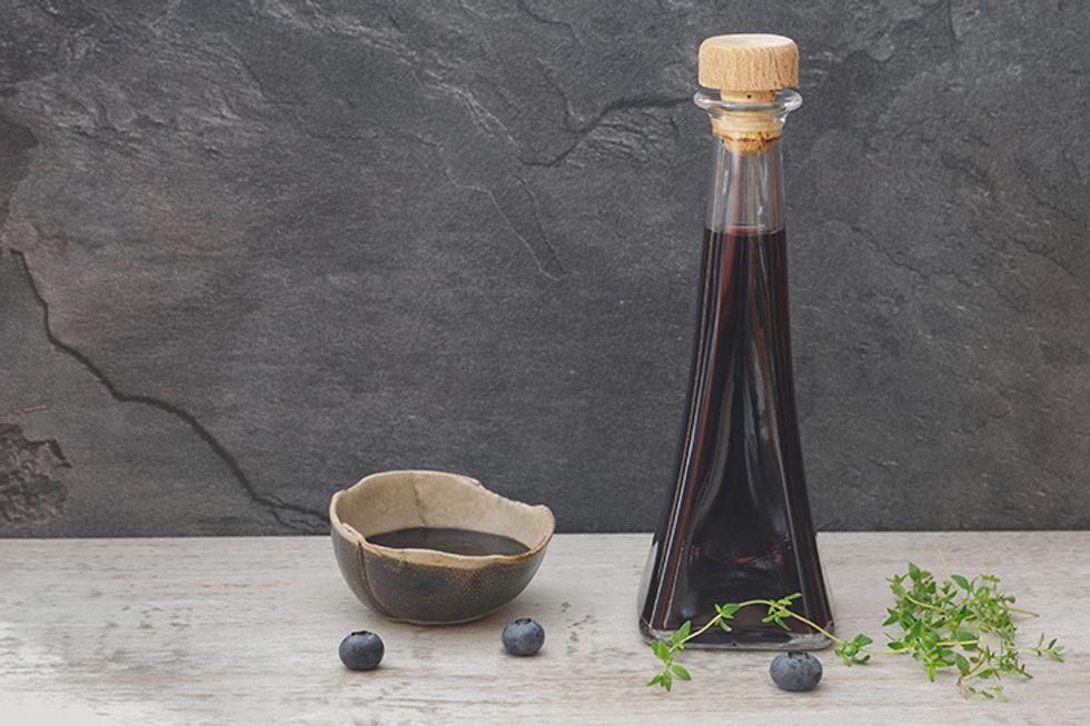 Balsamic Blueberry Vinaigrette