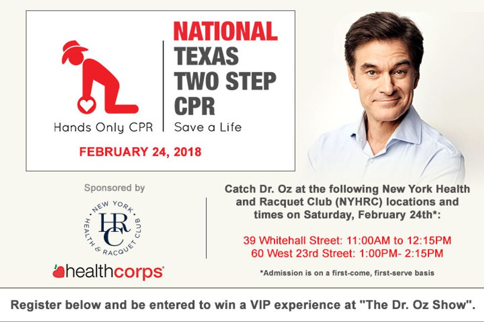 National Texas Two Step CPR Event