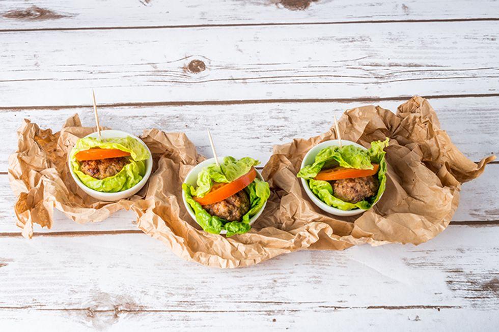 Suzanne Ryan's Cheeseburger Lettuce Wraps