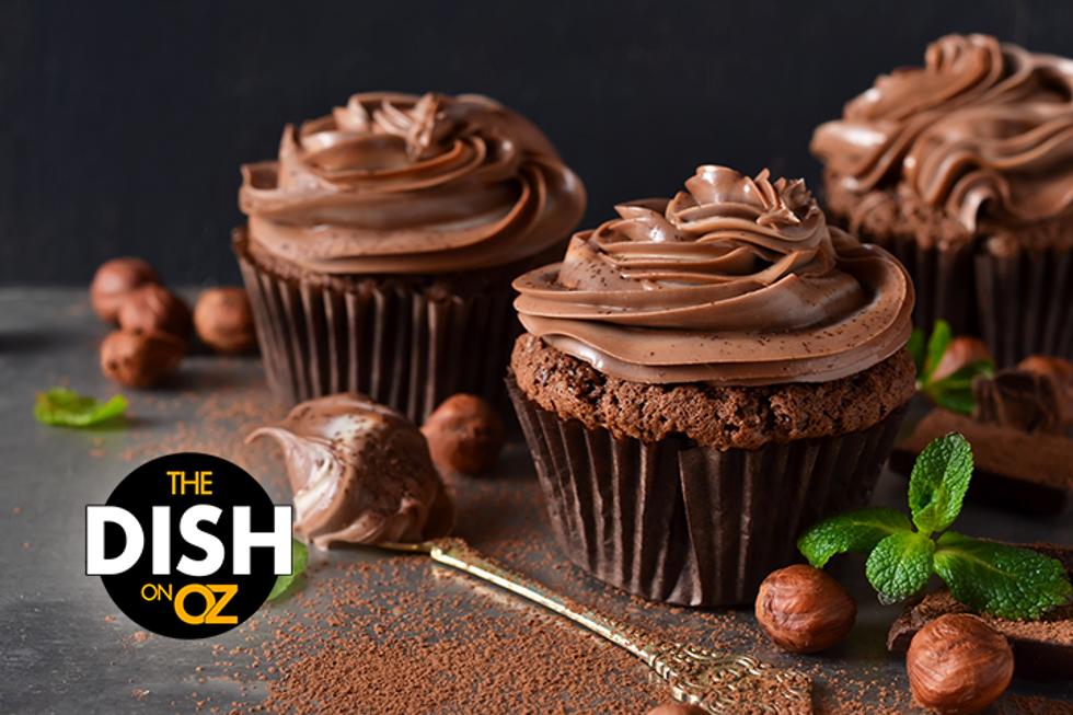 Jordin Sparks' Spiced Double-Chocolate Caramel Cupcakes