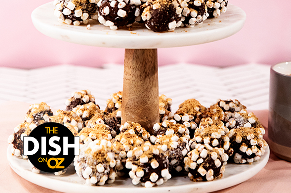 The Dish's No-Bake Chocolate S'mores Truffles