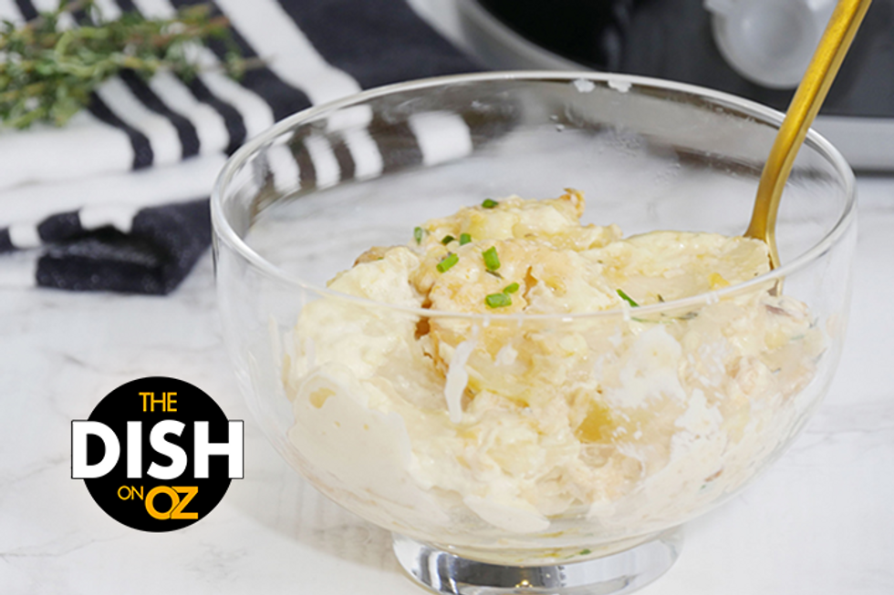 Alex Guarnaschelli's Cheesy Potato Gratin