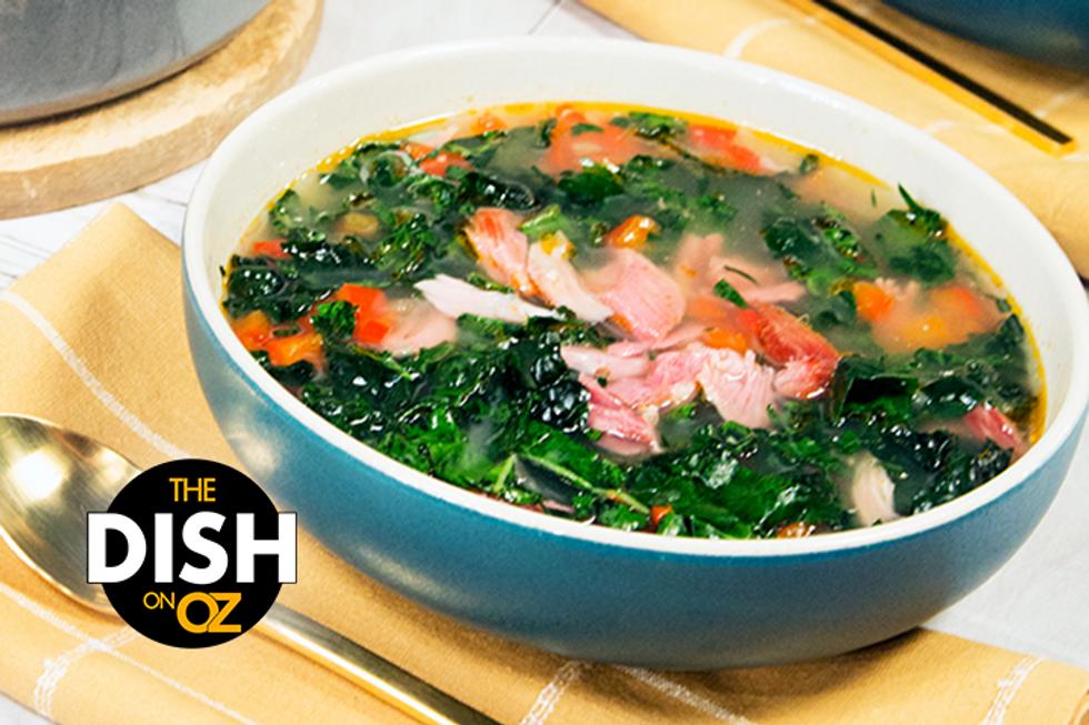 Jamika Pessoa's Smoked Turkey and Kale Soup
