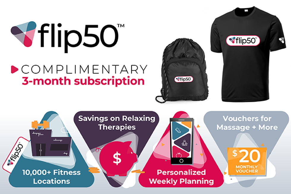 Enter for a Chance to Win: flip50 Giveaway Pack!