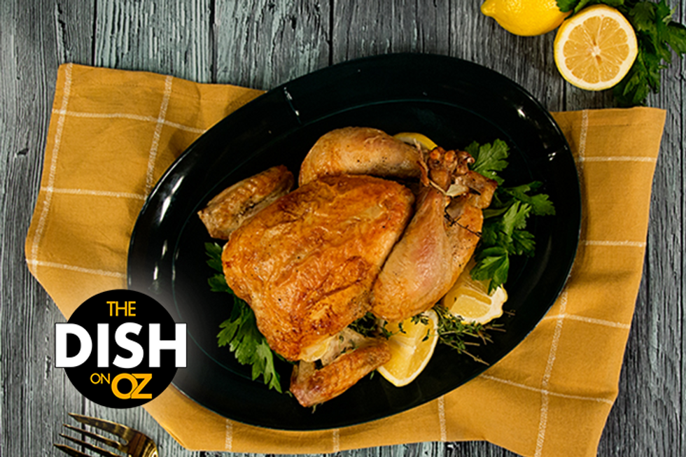 Jamika Pessoa's Crispy Roasted Chicken