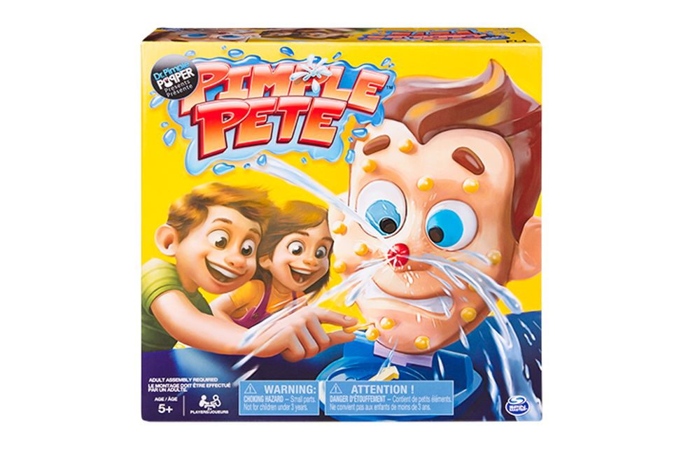 Enter for a Chance to Win: Pimple Pete Game