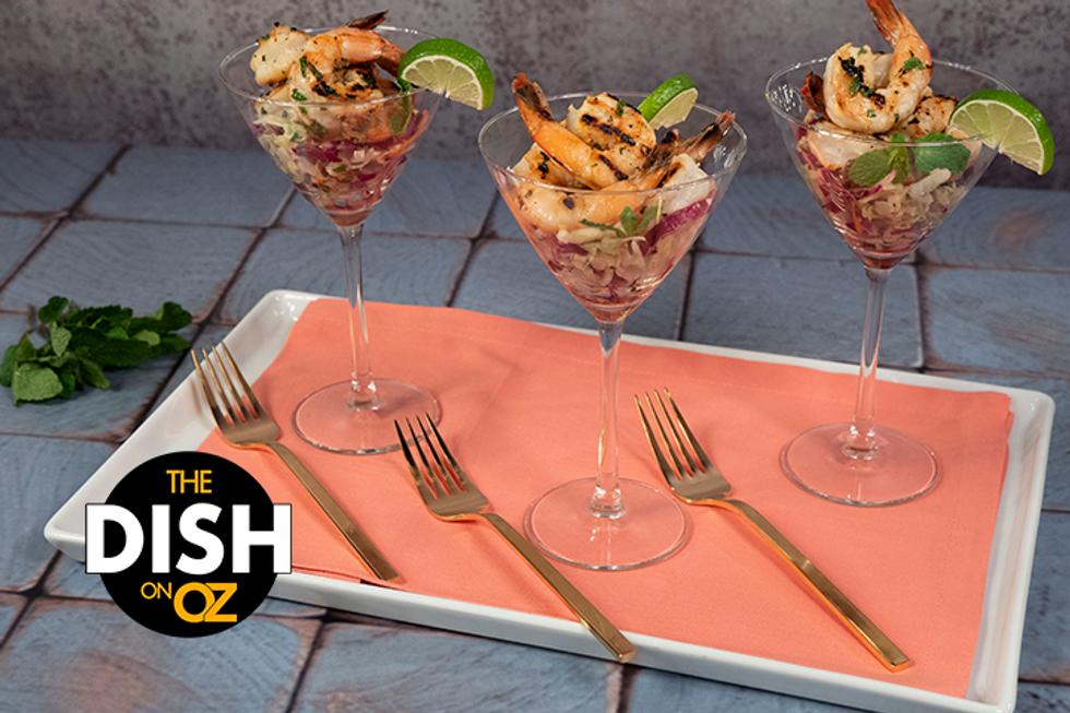 Jamika Pessoa's Grilled Mojito Shrimp