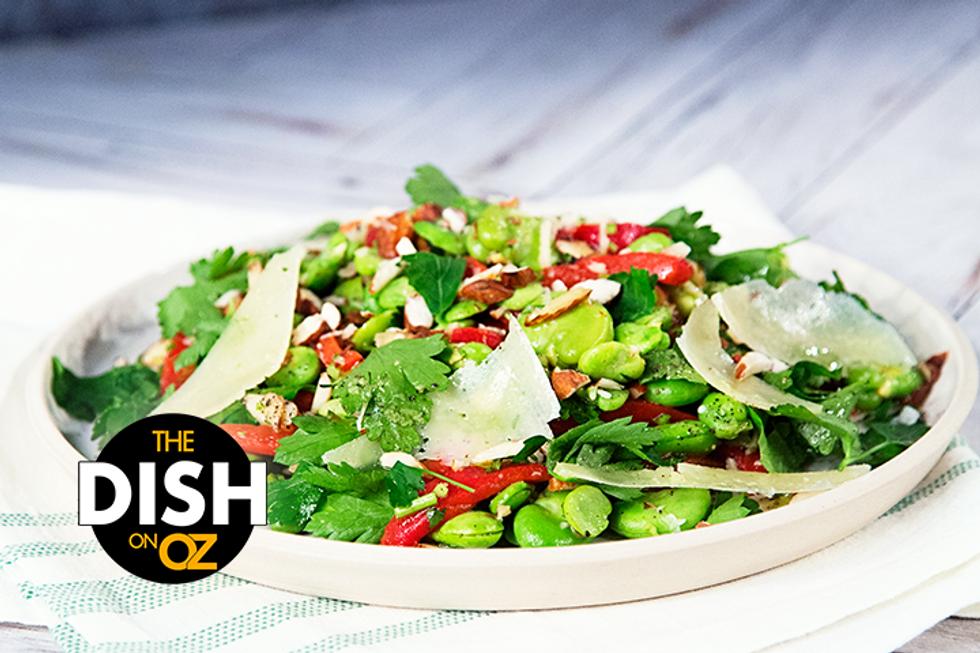 Jamie Oliver's Fava Bean Salad