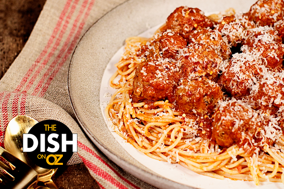 Laila Ali's Guilt-Free Spaghetti and Meatballs