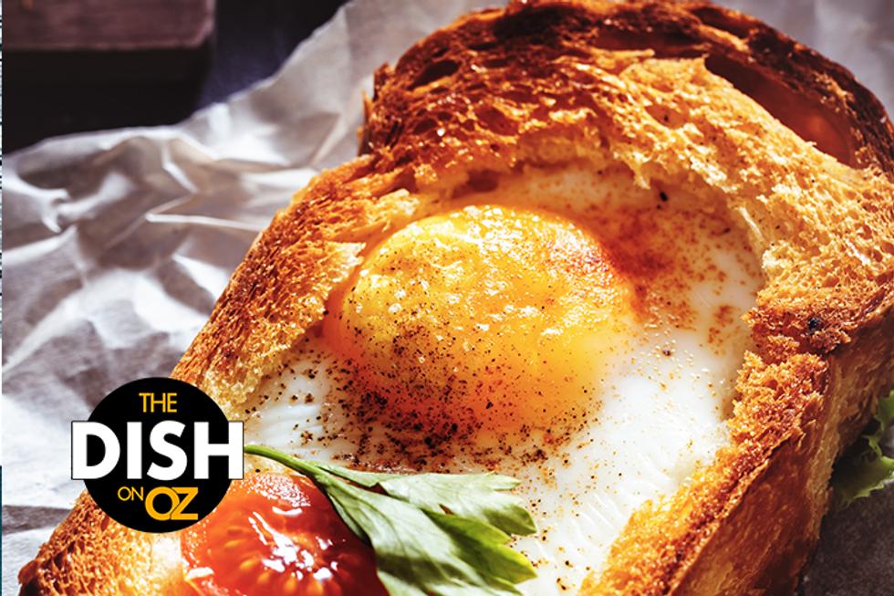 Jamika Pessoa's French Toast Egg-in-a-Hole