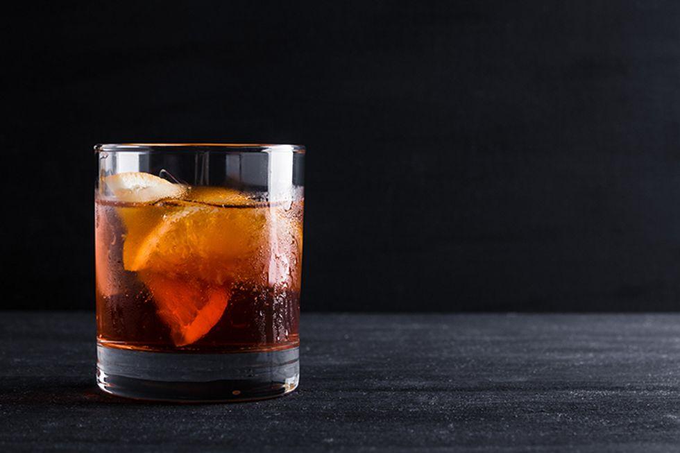 Oz-cal Shrub Cocktail