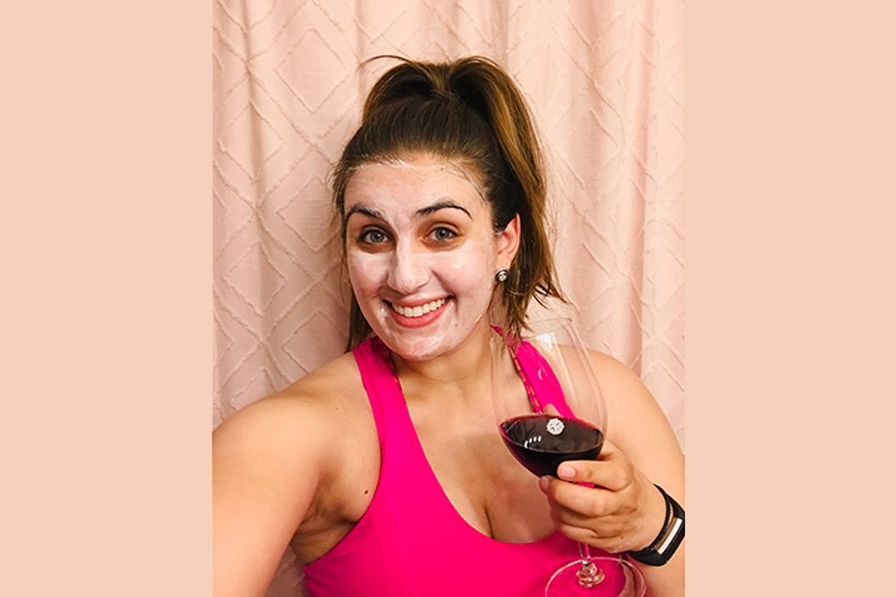 This Red Wine Face Mask Allowed Me to Refresh My Skin & Enjoy a Glass at the Same Time