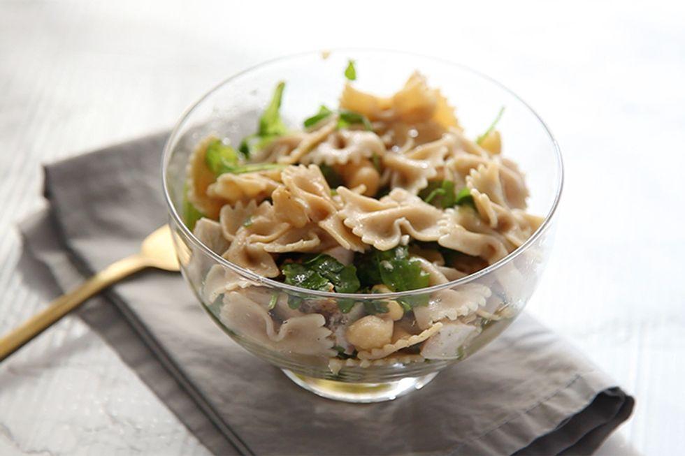 Green Herb & Chicken Pasta Salad
